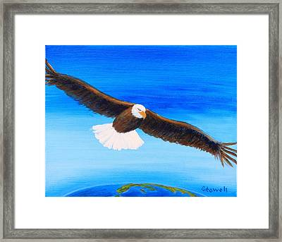 Come Fly With Me Framed Print by Gary Rowell