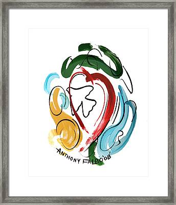 Come Into My Heart Framed Print by Anthony Falbo