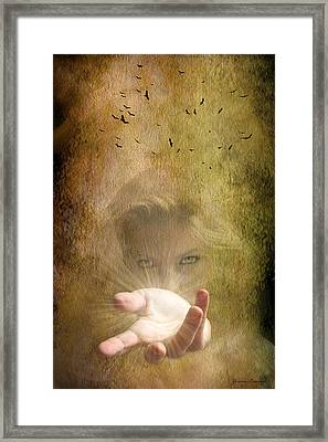 Come Into The Light Framed Print