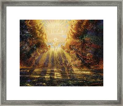 Come Lord Come Framed Print by Graham Braddock