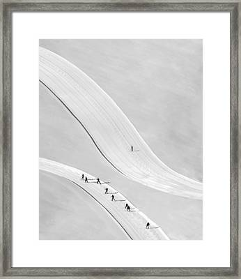 Come On Boys... Framed Print
