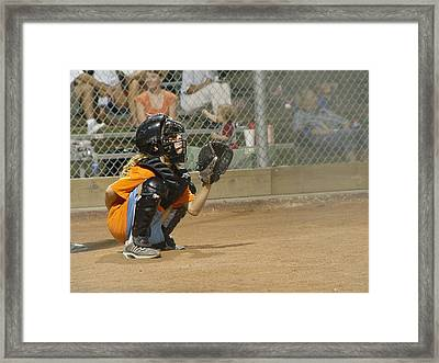 Come On Framed Print by Elizabeth Sullivan
