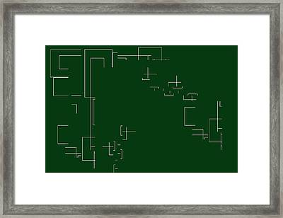 Framed Print featuring the digital art Come On In Margaret by Cletis Stump