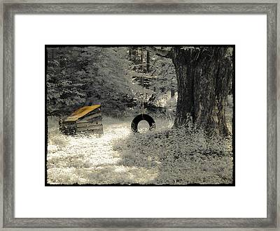 Come Out And Play Framed Print by Luke Moore