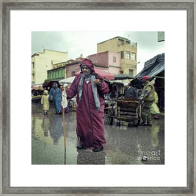Come Rain Come Shine Framed Print by Michel Verhoef