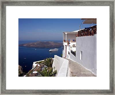 Come Sail Away 1 Framed Print by Mel Steinhauer