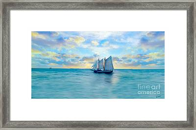 Come Sail Away Painting Framed Print