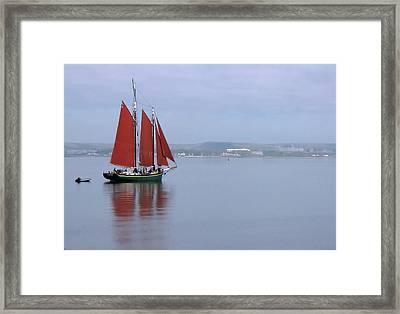 Come Sail Away Framed Print by Karol Livote