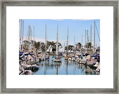 Come Sail Away Framed Print by Tammy Espino