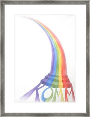 Come Framed Print by Sandra Yegiazaryan