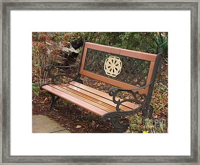 Come Sit Framed Print by Margaret McDermott