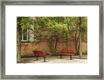 Come Sit With Me Framed Print