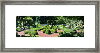 Come To My Garden Framed Print by Bruce Bley