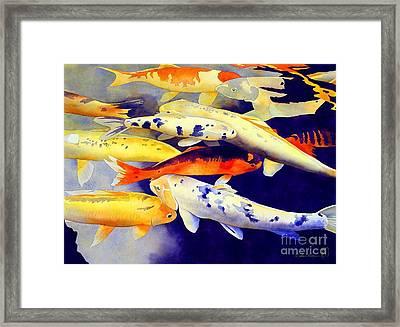 Come Together Framed Print by Robert Hooper