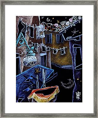 Come Una Volta - Pittori Veneziani - Italian Artists From Venice Framed Print by Arte Venezia
