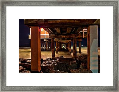 Come Under Framed Print by Dado Molina