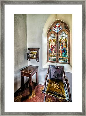 Come Unto Me Framed Print by Adrian Evans