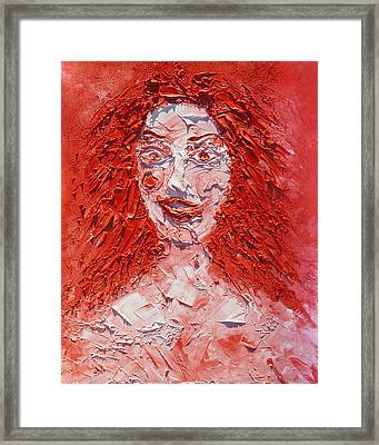The Laughter Of Medusa Framed Print
