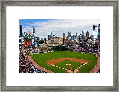 Comerica Park Framed Print by John McGraw