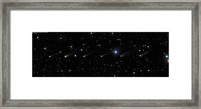 Comet 67p Churyumov-gerasimenko Framed Print by Damian Peach