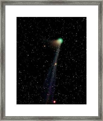 Comet C2012 F6 Framed Print by Damian Peach
