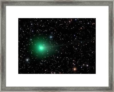 Comet C2013 R1 Framed Print