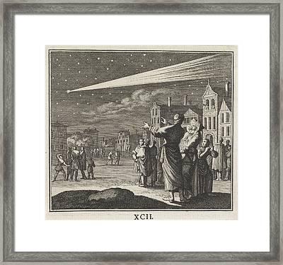Comet, Caspar Luyken, Christoph Weigel Framed Print by Caspar Luyken And Christoph Weigel