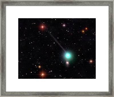 Comet Encke Framed Print