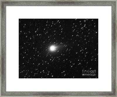 Comet Levy Framed Print by Chris Cook