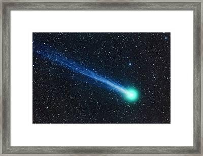 Comet Lovejoy Closeup Jan 19, 2015 Framed Print