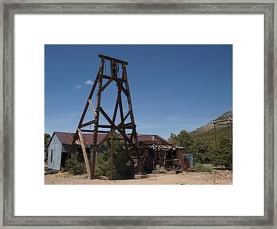 Comet Mine Framed Print