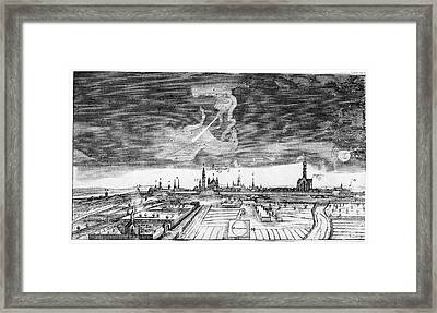 Comet Of 1665 Framed Print