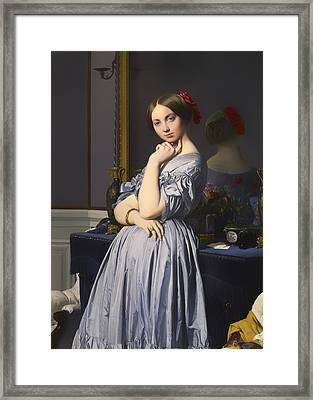 Cometesse D' Haussonville Framed Print by Mountain Dreams