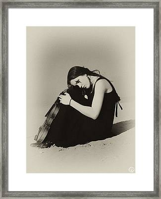 Comfort In The Desert Framed Print