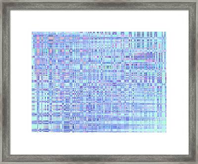 Comfort Quilt Framed Print