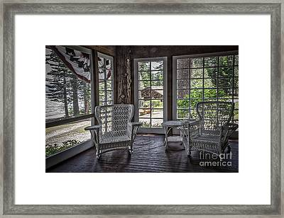 Comfort Zone Framed Print by Mitch Shindelbower