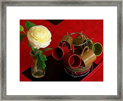Framed Print featuring the photograph Comfort Zone by Rodney Lee Williams