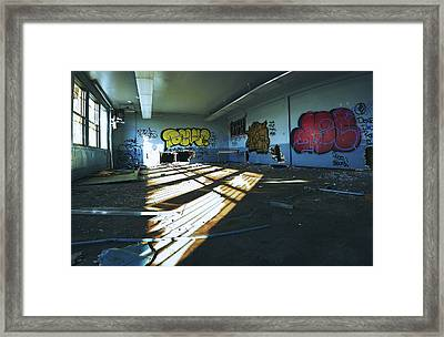 Comfortably Numb  Framed Print by Kenny Noddin