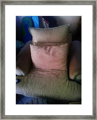 Comfy Chair Framed Print by Unique Consignment