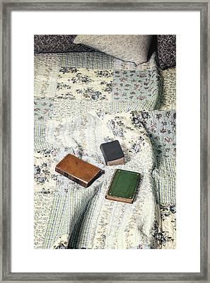 Comfy Reading Time Framed Print