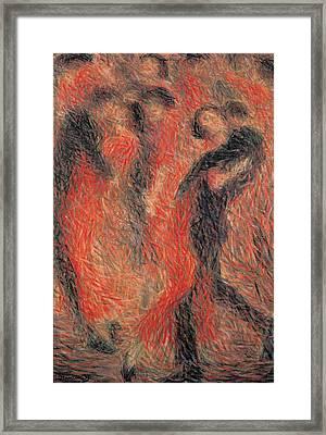 Cominetti Giuseppe, Tango, 1914, 20th Framed Print