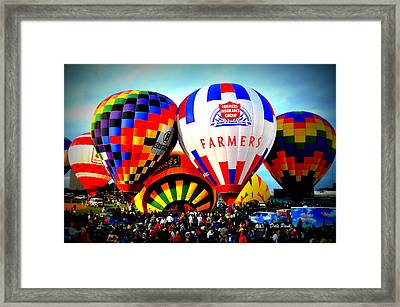 Coming Alive Framed Print