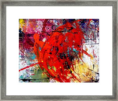 Coming And Goings Framed Print
