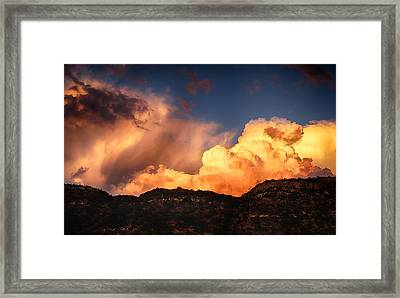 Coming Around The Mountain  Framed Print