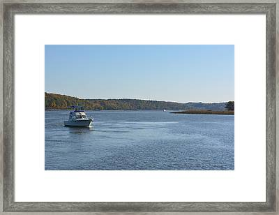 Coming Ashore Framed Print by Kenneth Cole