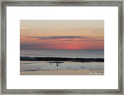 Framed Print featuring the photograph Coming Dawn by Robert Banach