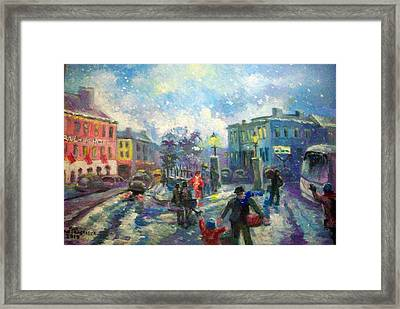 Coming Home For X Mas Framed Print