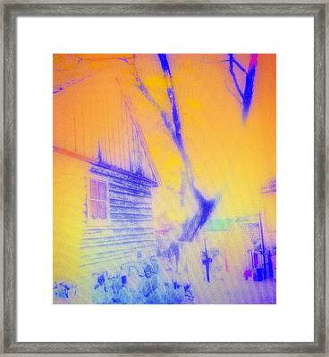 Will You Be Coming Home Some Day  Framed Print