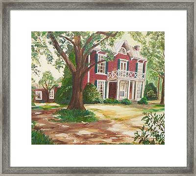 Coming Home Framed Print by Julie Brugh Riffey