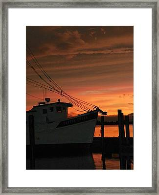 Coming Home... Framed Print by Karen Wiles